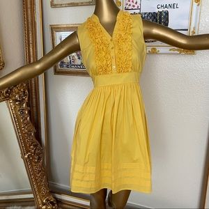 I.N San Francisco Yellow Summer Dress